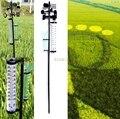 Garten Im Freien Wetter Station Meteorologischen Vermesser Vane Werkzeug Wind Regen Gauge M13 dropship-in Messgeräte aus Werkzeug bei