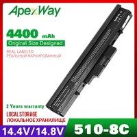 4400mah bateria do portátil para HP 510 530 440264-ABC 440265-ABC 440266-ABC 440268-ABC 440704-001 441674-001 443063-001 HSTNN-FB40