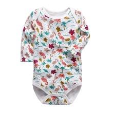 цена на Newborn baby clothes baby girl boy bodysuit hooded plush jumpsuit Four seasons overalls for kids Sets