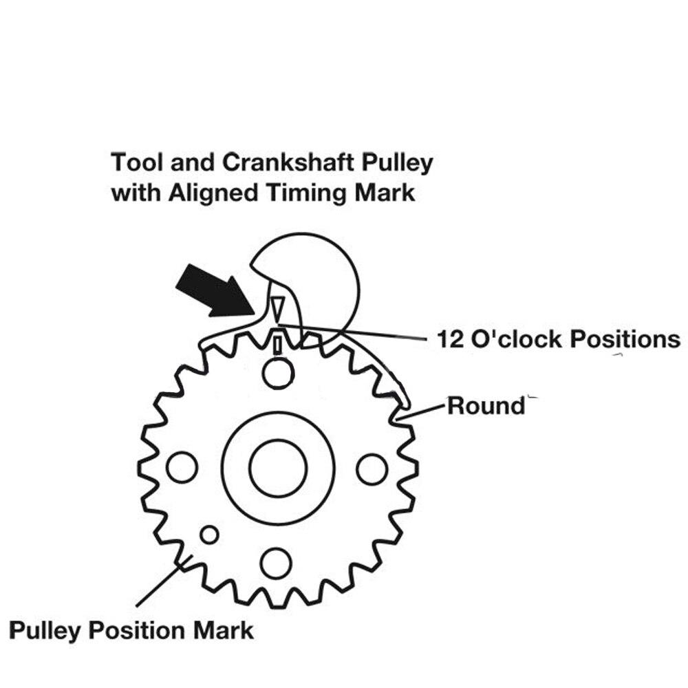 MR CARTOOL 6pc Universal Diesel Engine Timing Cam Crank Locking Tool Set For 2 0 TDI VW AUDI A4 A6 T10050 T10100 ST0049