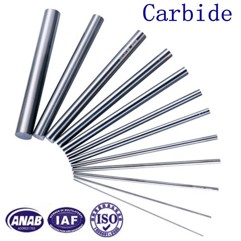 5x Φ4mm x 150mm Round Bar Rod Carbide Solid  K10 Tungsten Steel Shaft Cut