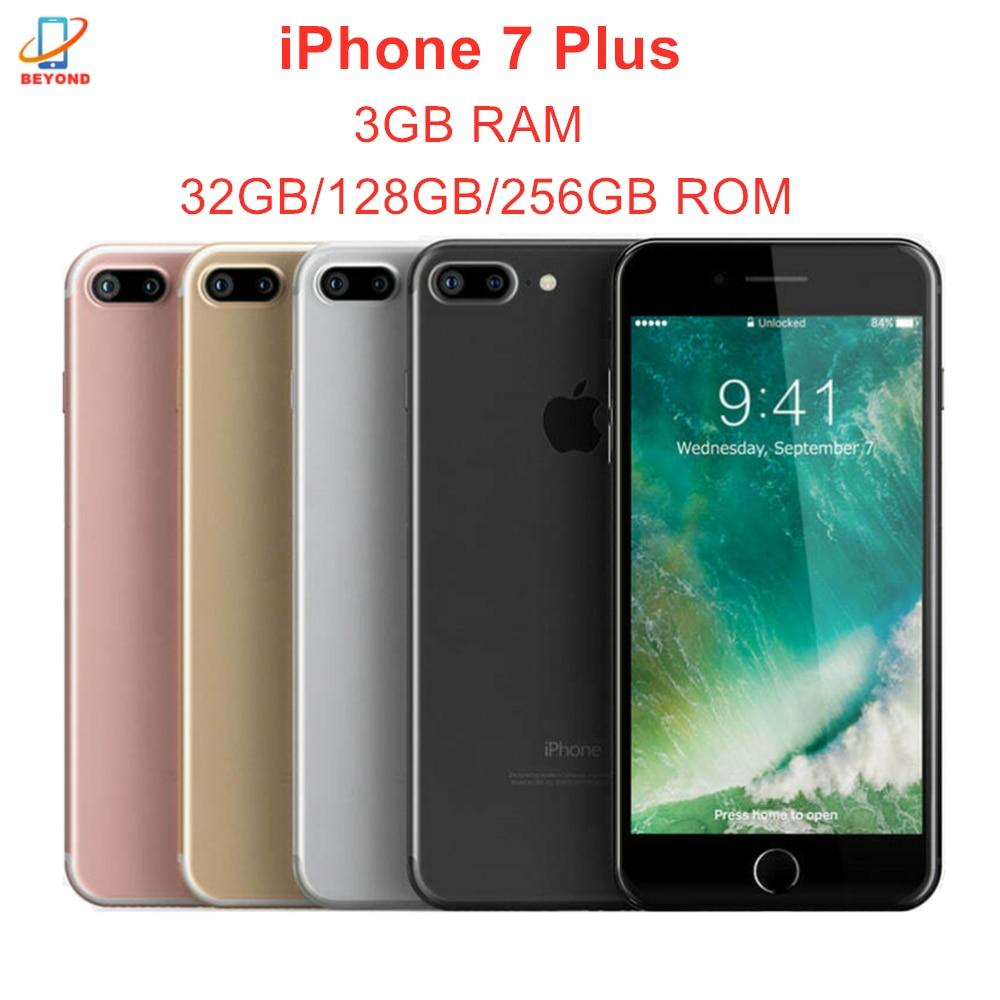 "Apple iPhone 7 Plus 3GB RAM 32/128/256GB ROM Original Entsperrt 12MP 4G LTE 5.5 ""Quad Core IOS A10 NFC Handy Smartphone"