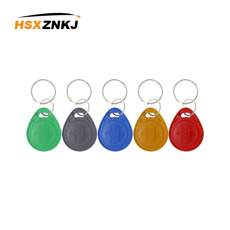 100pcs/Hand 125KHz TK4100 RFID Card Access Control Only RFID EM4100 Keychain ID Card Keychain Read Token