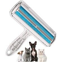 Ролик для удаления шерсти домашних животных многоразовая пластиковая