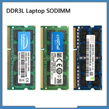 DDR3L RAM 4GB 8GB 1866MHz 1600MHz 1333MHz 1066MHZ SODIMM RAM dizüstü bellek 204 Pins 1.35V Memoria DDR3 RAM bellek modülü