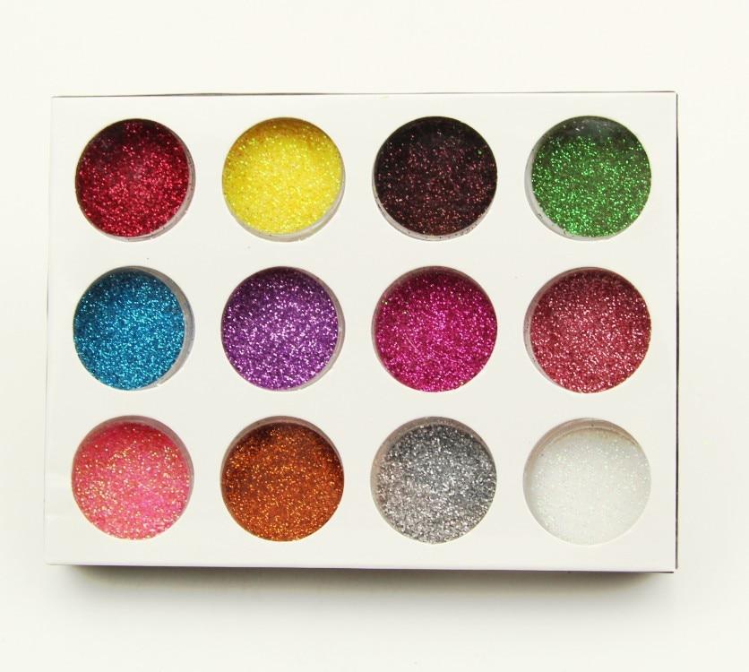 Best Quality Nail Glitter Flakes 3D Sequins Paillette Powder Charm Nail Art Decoration Manicure Tools Xdy011