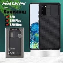 Nillkin caméra étui de Protection pour Samsung Galaxy S20 Ultra étui S20 Plus S20 A71 A51 étui à glissière lentille protéger la couverture de confidentialité
