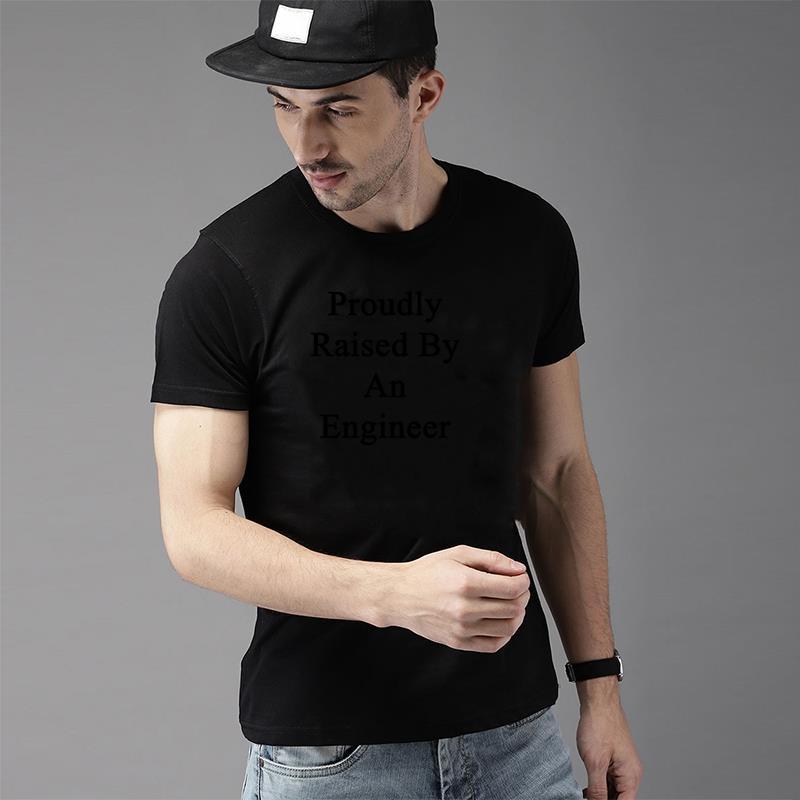 Милые футболки с гордо поднятым инженером, мужская и женская S-5XL хлопковая одежда