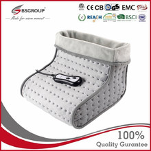 220V Microplush Electrical Heated Massager Foot Warmer Pad Booties Electric heaters Heating foot Pads for Shoes Washable EU Plug
