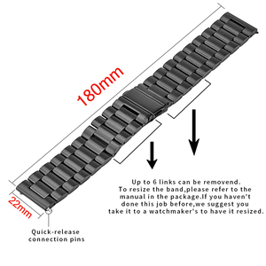 Image 5 - 20 22mm drewna zegarek zespół dla huawei zegarek GT / Galaxy 42/46mm ze stali nierdzewnej klamra pasek wymiana bransoletka dla biegów S3 S2