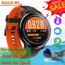 SN80 Smart watch IP68 Waterproof 1.3 inch Full touch round screen DIY face Blood Oxygen Men Sport Smartwatch PK P8 L13