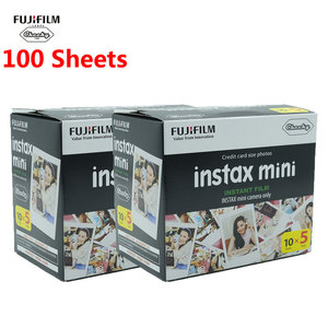 Image 1 - White 100 Sheets Fujifilm Instax Mini Film Fuji Instax Instant Camera Photo Film Paper Mini 8 9 Photo Camera Mini 9 8 7s 70 90 C