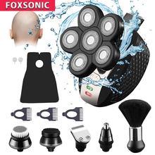 Электробритва foxsonic 6 в 1 для мужчин многофункциональная