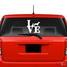 Love Dogo Argentino Windshield Sticker Vinyl Auto Window park window decals сникерсы dogo