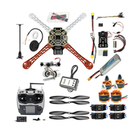 Barato Kit de Drone RC FPV DIY, cuadricóptero de 4 ejes con marco F450 PIXHAWK PXI PX4, Control de vuelo, Motor de 920KV, receptor GPS AT9S
