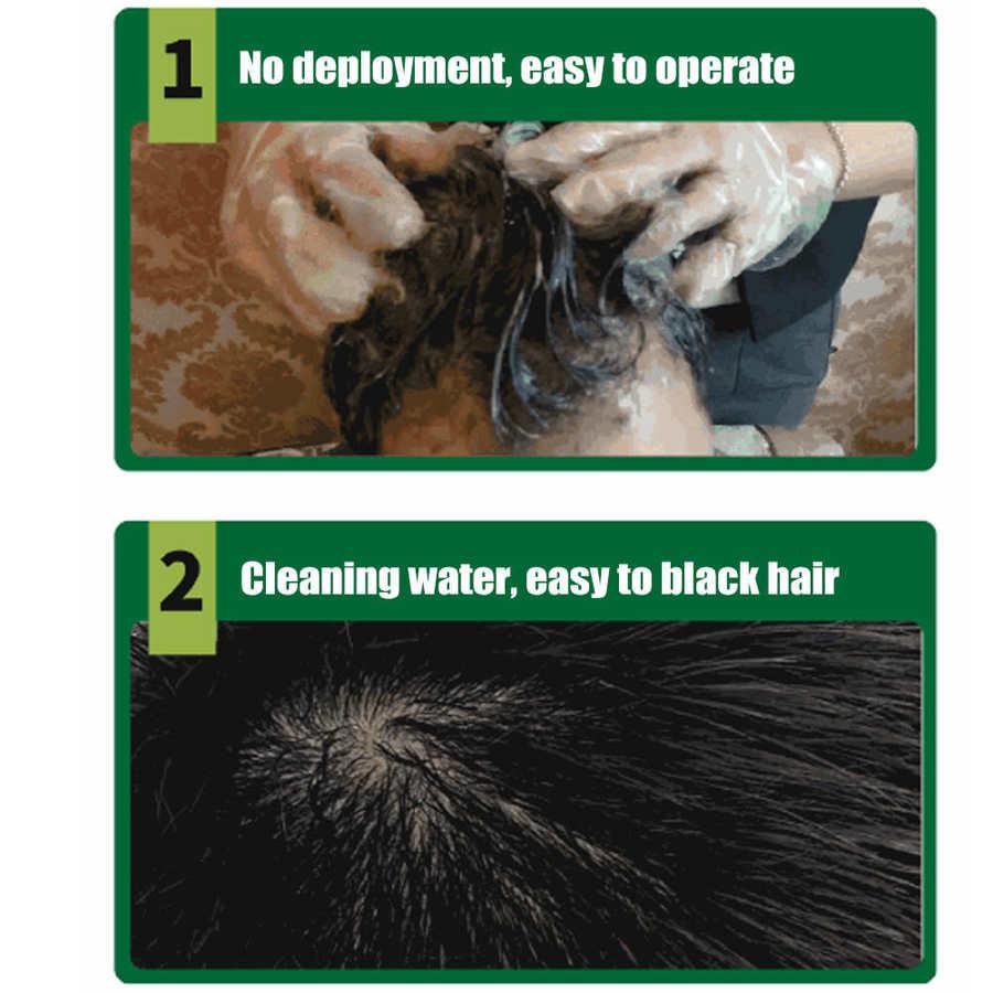 tintura shampoo cabelo coloração creme com luvas cuidados com o cabelo