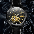 LOBINNI Чайка автоматические механические часы люксовый бренд Мужские часы кожаный сапфир Водонепроницаемые 50 м мужские наручные часы