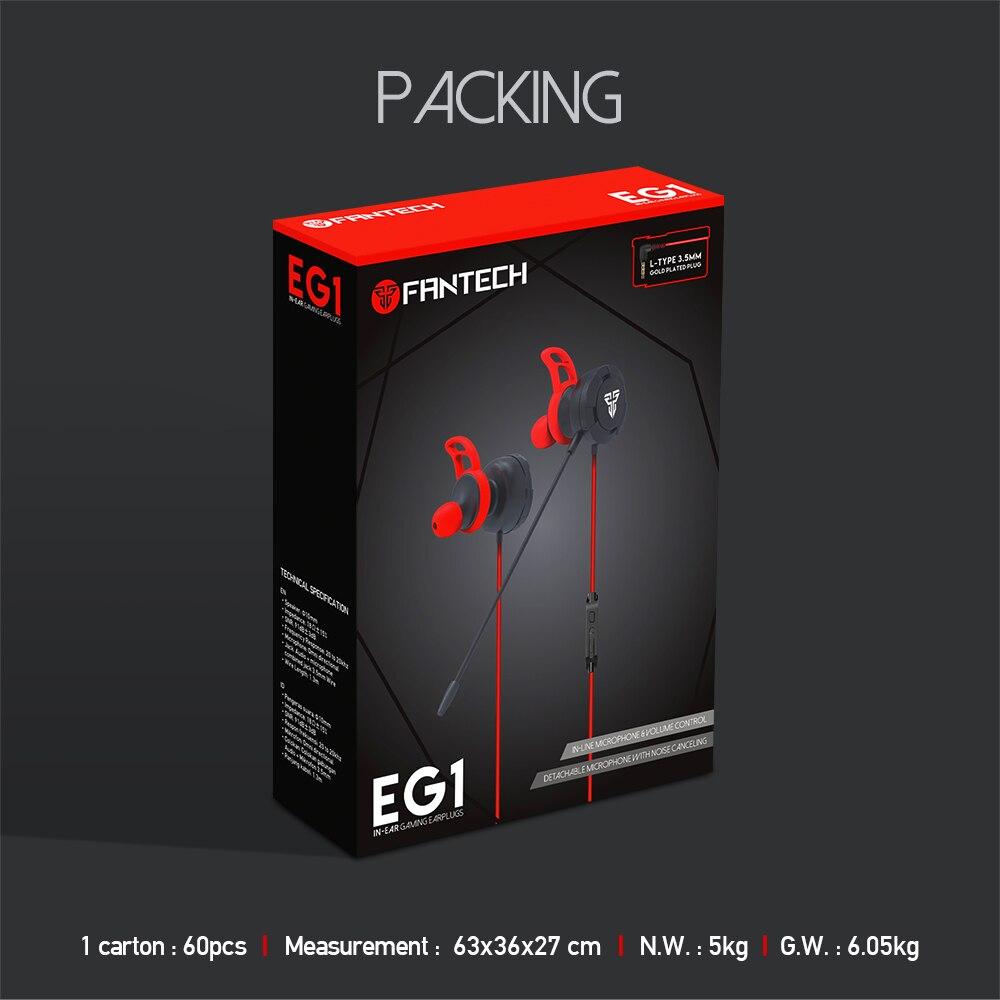 Fantech EG1 In-Ear Gaming Earphone 15