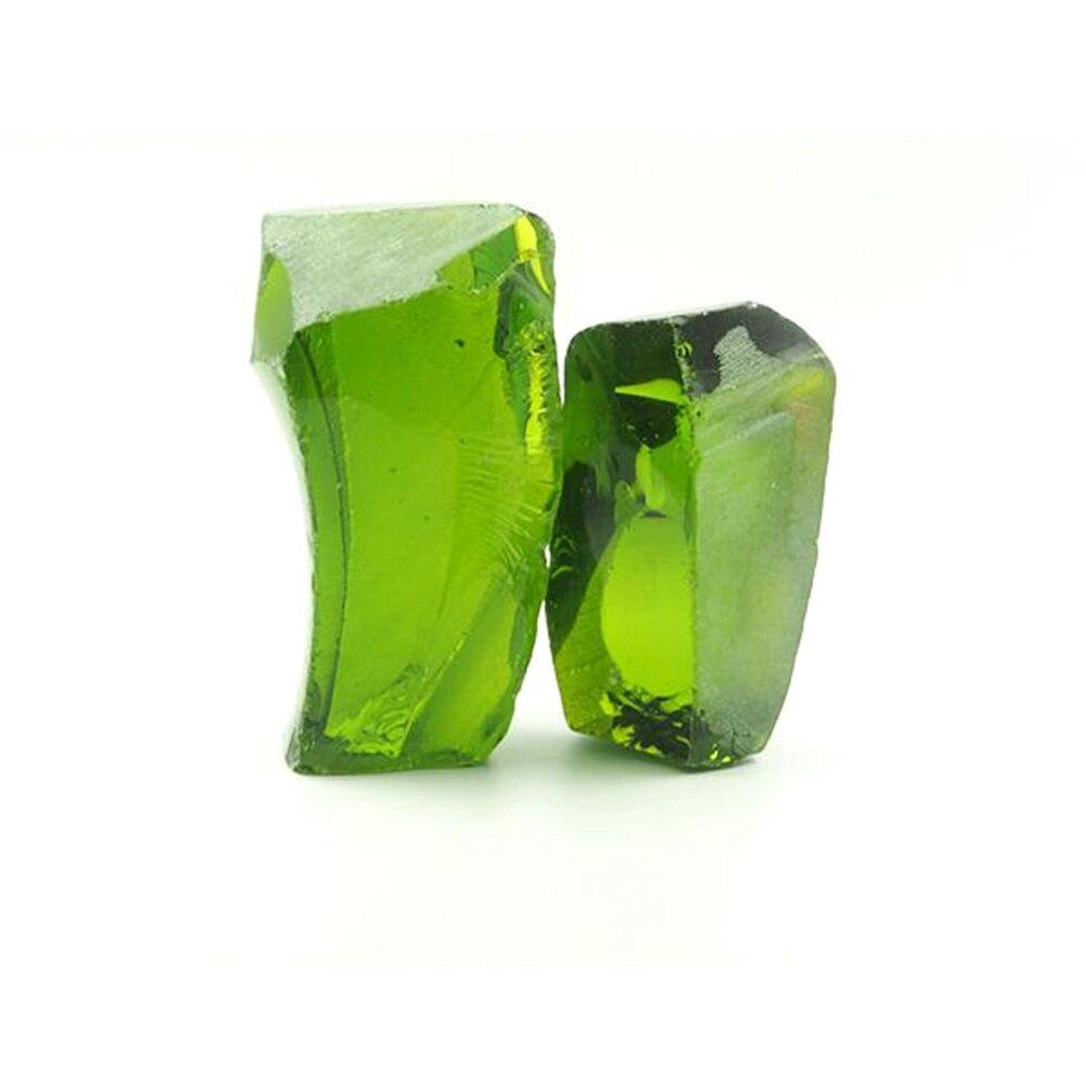 200 Grams /bag Uncut Peridot Green #172 Hydrothermal Laboratory Peridot material gemstone for sale