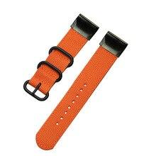 20mm/22mm/26mm Quick Fit Woven Nylon WristBand Strap for Garmin Fenix 5X Plus/Fenix 3/3 HR 5 5S Plus Sport smart watchband