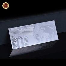 Venta al por mayor, billetes de plata de 1000 dólares, billetes falsos, billetes suizos, billetes sin moneda, regalos para hombres