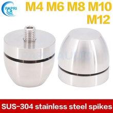 PAPRI enceinte pieds pointes SUS-FE 304 inox amplificateur châssis support basse petit clou Audio HiFi lecteur CD platine vinyle 1 pièces