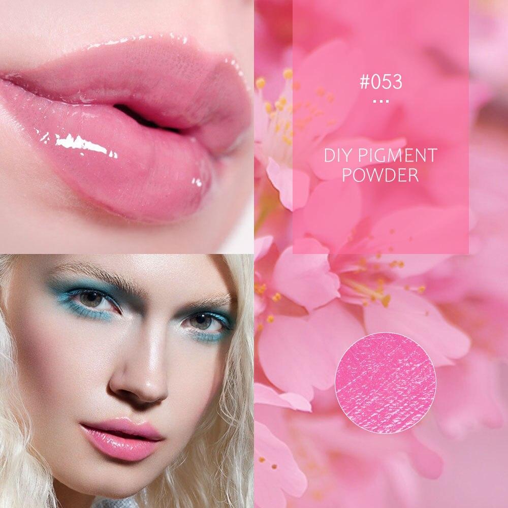 8 Colors Diy Lip Gloss Powder Material Lip Glaze Pigment For DIY Lipgloss Making Kit Long Lasting Lips Makeup 1g