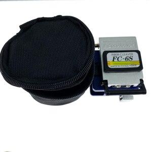 Image 4 - 12 unidades/juego de herramientas de fibra óptica con cuchilla de fibra FTTH  70 ~ + 10dBm, medidor de potencia óptica, falla Visual, 10mW, Lcator, 10km