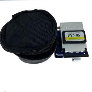 Image 4 - 12pcs/set Fiber Optic Tool Kit with Fiber Cleaver  FTTH   70~+10dBm Optical Power Meter 10mW Visual Fault Lcator 10km