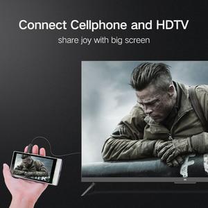 Image 5 - UGREEN מיקרו HDMI ל HDMI כבל מתאם 4K 60Hz Ethernet אודיו עבור GoPro גיבור 7 שחור גיבור 5 פטל Pi 4 Lenovo 1m HDMI מיקרו