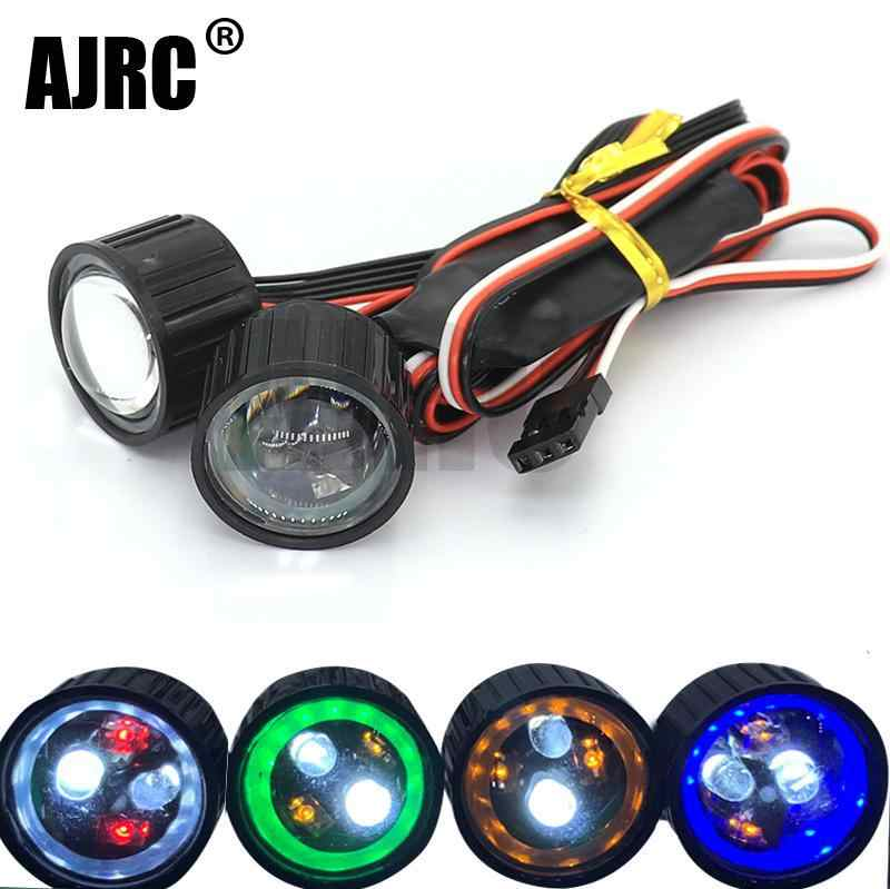 AJRC 22mm Multifunction RCรถไฟหน้าไฟLED CH3 CONTROLLER BOARDสำหรับ 1/10 Axial SCX10 90046 jkmax RC ROCK Crawler