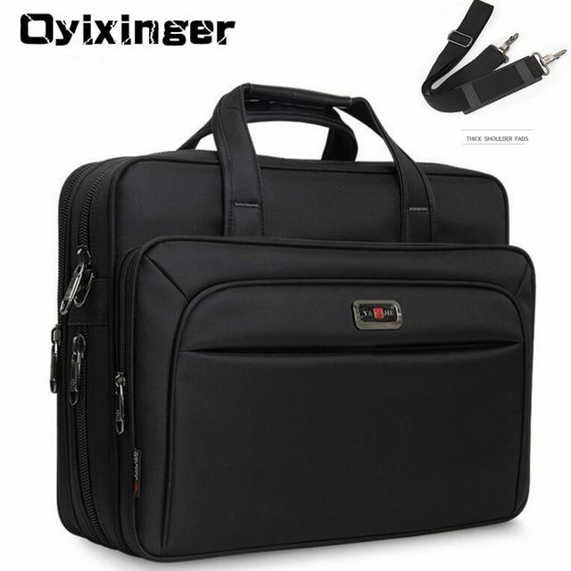 "Large Capacity Men Single Shoulder Bag 14"" 15"" 16 Inches Travel Bag Men's casual fashion Handbags Business Briefcase Laptop Bag 1"