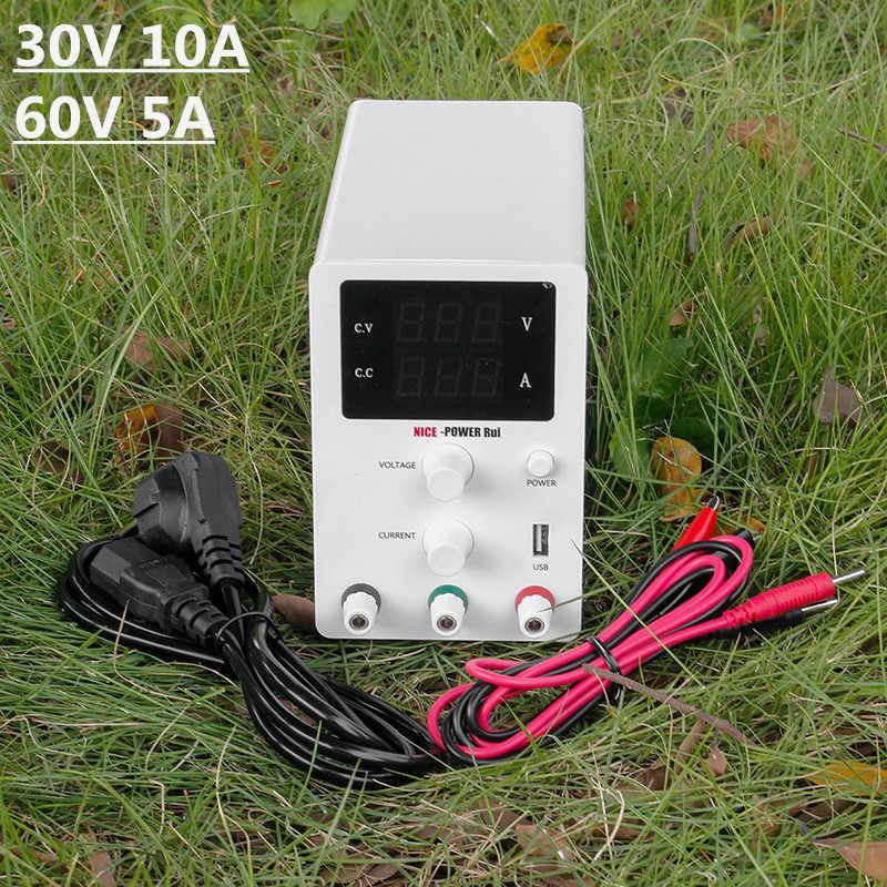 Nowy biały R-SPS serii regulowany przełączania zasilania Dc laboratorium 30V 10A 60V 5A transformator prądu stabilizator