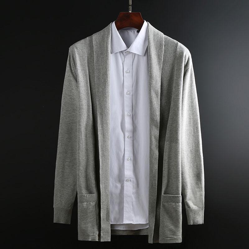 2019 New Fashion Brand Sweater Mens Cardigan Woolen Slim Fit Jumpers Knitwear Coat Winter Korean Style Casual Clothing Men