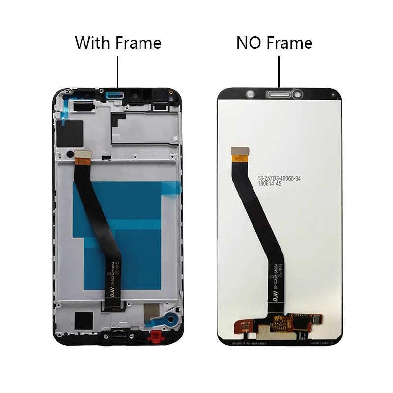"""5.7 """"Cho Huawei Y6 2018 Màn Hình LCD Hiển Thị Màn Hình Cảm Ứng Atu L11 L21 L22 LX1 LX3 L31 L42 Cho Huawei y6 Prime 2018 Màn Hình LCD Thưởng Thức 8E Màn Hình Hiển Thị"""