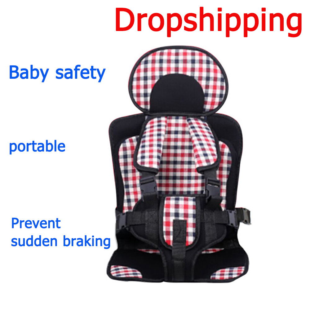 Adjustable Baby Safe Seat for 0-6 Years Old Baby Safe Toddler Chair Seats Mat