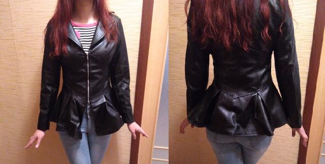 2020 Gothic Faux Leather PU Jacket Women Winter Autumn Fashion Motorcycle Jacket Black Goth Punk Faux Leather Coats Outerwear
