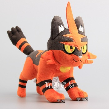 Peluche de Torracat pokémon 30CM Merchandising de Pokémon Peluches de Pokémon