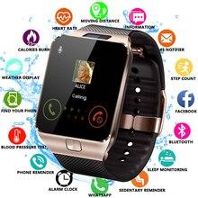 Reloj inteligente DZ09, reloj inteligente, compatible con cámara SIM TF, reloj de pulsera deportivo Bluetooth para hombre y mujer, para teléfono Android sa m u ng wei XM