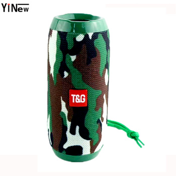 Wireless Bluetooth Speaker 10W Waterproof column Subwoofer portable Speaker soundbar+Mic Bass FM Radio MP3 Sound Box usb boombox