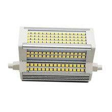 1 шт. R7S 118 мм 50 Вт светодиодный SMD 2835 перекладина лампа заменяет 500 Вт солнечные трубки AC85-265V используется в парках магазины дома отделений Бес...
