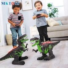 Dinosaur-Toys Electric-Robot Remote-Control T Rex RC MKTOYS Kids Children for Boys Gift