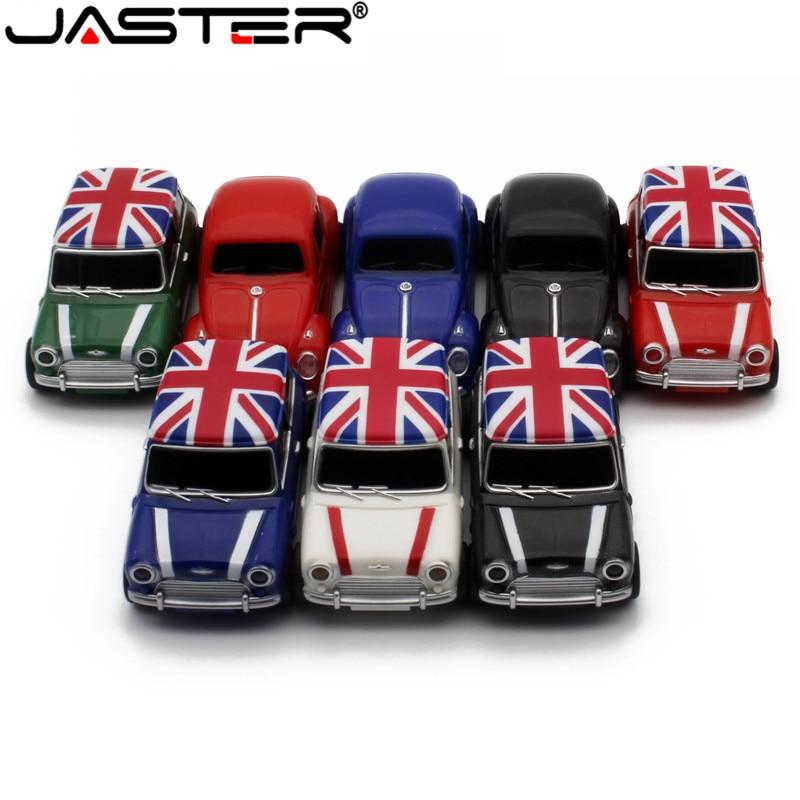 JASTER Symulacja Samochodu 64GB USB, Mini Kreatywny Cooper Samochody Modelu Usb 2.0 Flash Memory Stick Pen Drive 4GB  16GB 32G