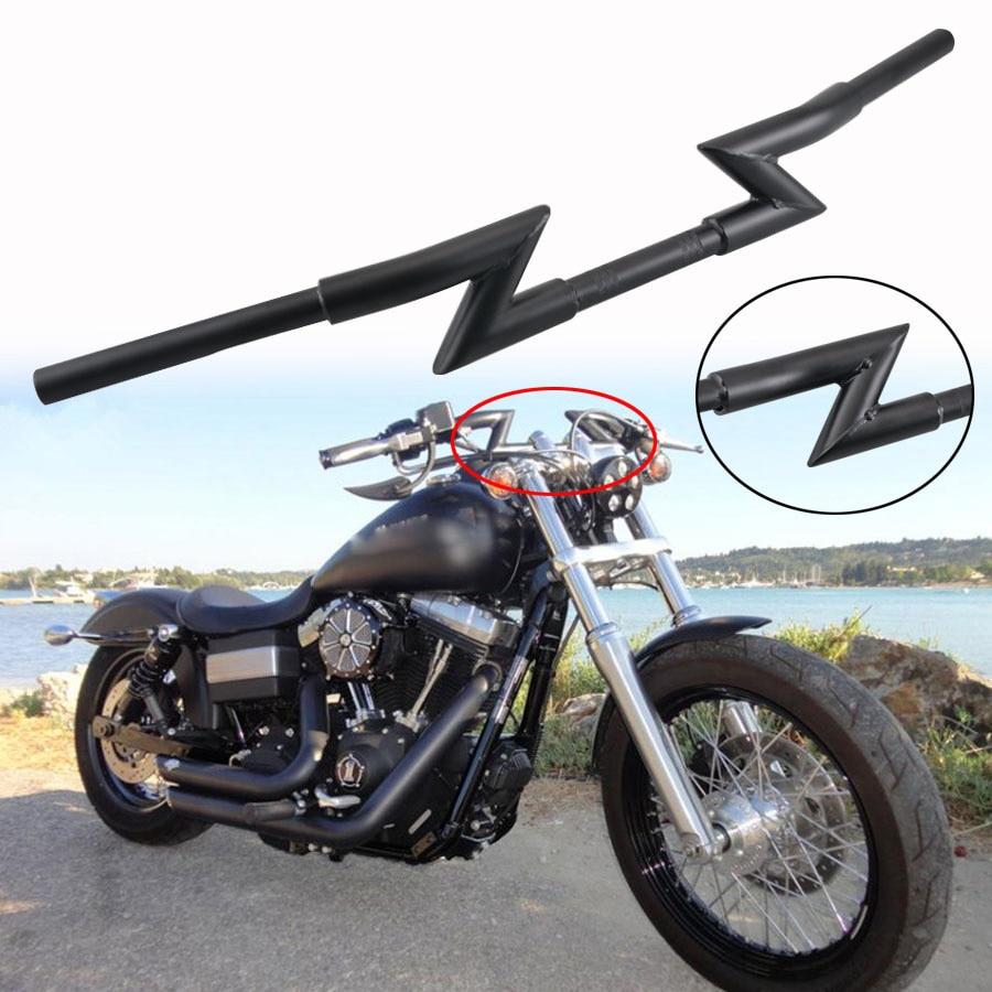 1″ Motorcycle Handlebar Hand Grips 25mm For Harley Cruiser Bobber Chopper Custom