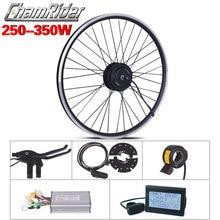 250W 350W 36V 48V ebike ערכת אופניים חשמליים המרת ערכת XF07 XF08 לMXUS מנוע ללא סוללה LED LCD תצוגת אופציונלי freehub