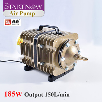 220V 185W 150L/min Electric Magnetic Air Compressor SUNSUN Air Pump ACO-012 For Laser Machine Ash Remove Aquarium Fish Farming