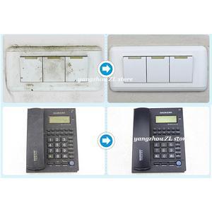 Image 4 - أبيض ماجيك تنظيف إسفنجة من الميلامين ممحاة متعددة الوظائف ، حجم كبير 11*7*4 سنتيمتر