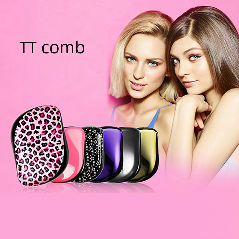 Professional Tangle Brush TT Hair Combs ABS Magic Hair Brushes Travel Essentials Hair Brush Tools