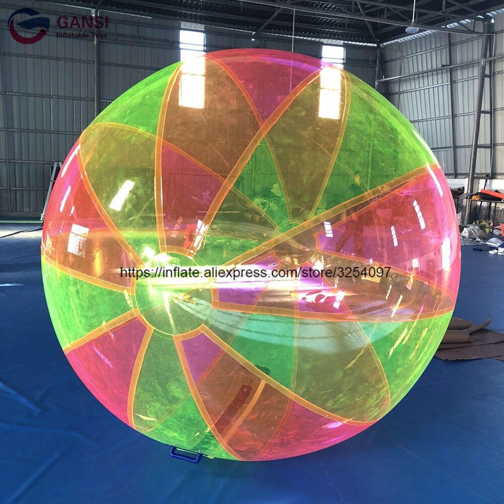 Giocattoli per bambini gonfiabile a piedi sulla sfera di rullo dell'acqua, nuovo disegno di galleggiamento sfera gonfiabile dell'acqua per la vendita - 6