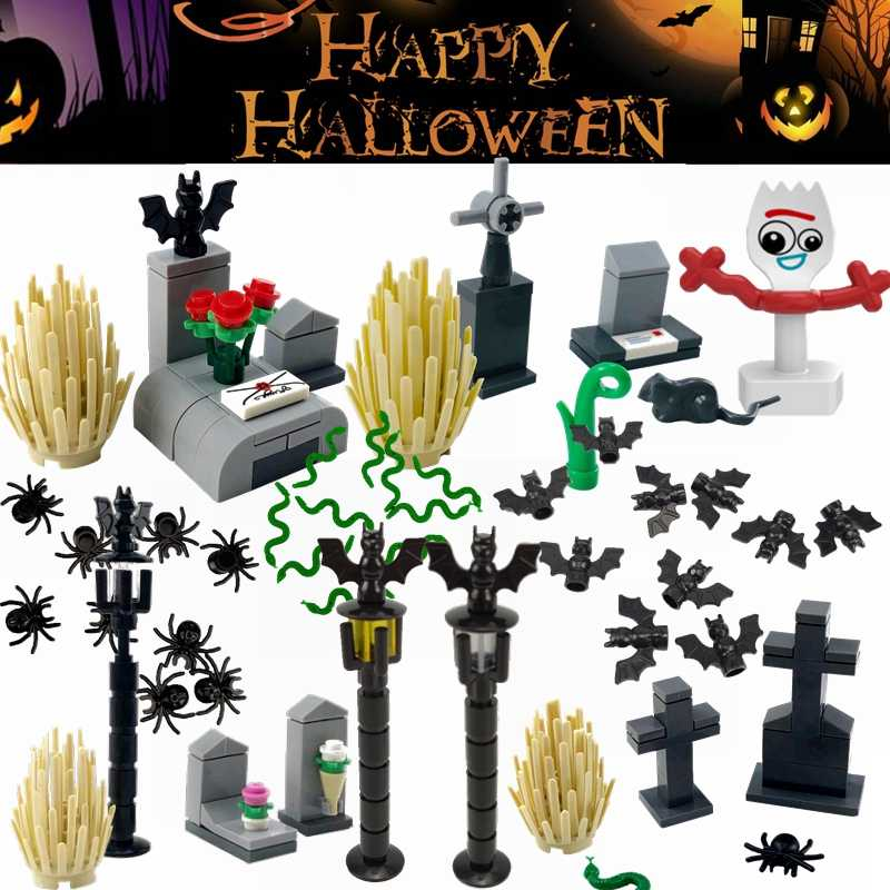 Legoing Halloween Horror Tema Máscara Série Caçador-Black Friday Jason Halloween Assustador Filme Figuras Building Blocks Toy Legoings